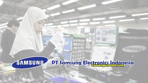 Lowongan Kerja PT. Samsung Electronics Indonesia Cikarang 2019