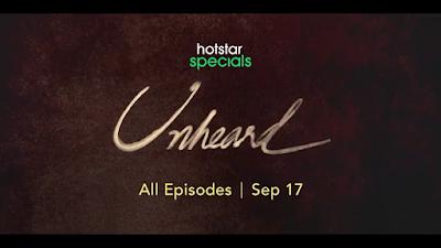 Unheard Disney+hotstar Telugu Series Release Date, Cast & How To Watch