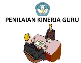 Format Aplikasi PKG ( Pengisian Penilaian Kinerja Guru )