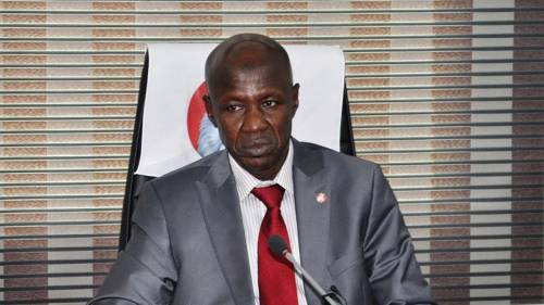 The DSS reportedly arrests Ibrahim Magu Acting EFCC President for alleged embezzlement