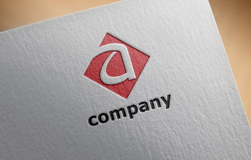 Letter a Company Initial