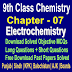 Electrochemistry | Chemistry 9 Class Notes - Easy Notes