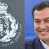 Moreno Bonilla altera el escudo de Andalucía con una corona borbónica infringiendo la legislación vigente