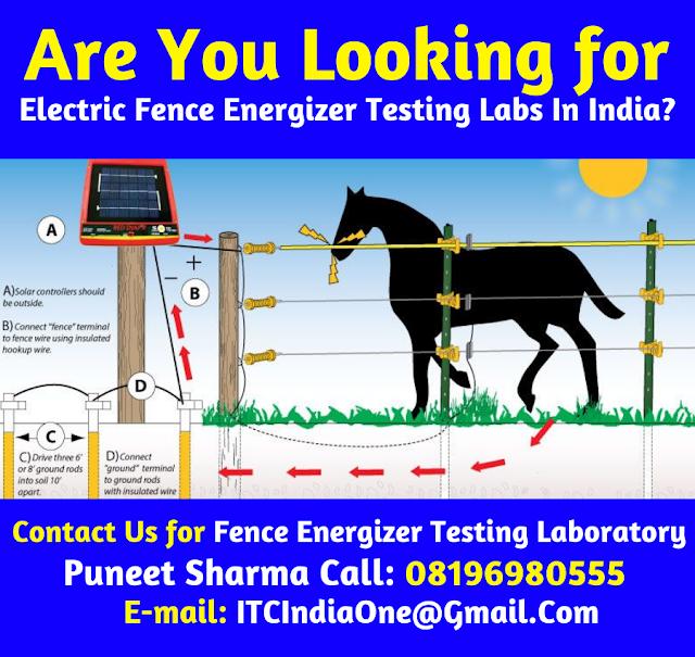 Solar Fence Energizer Testing Laboratories