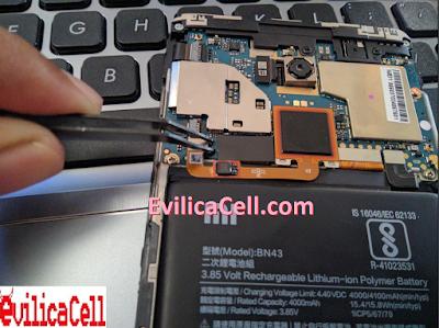 Test Point Redmi Note 4X Mido