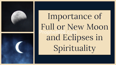 Full or New Moon and Eclipses in Kundalini Yoga