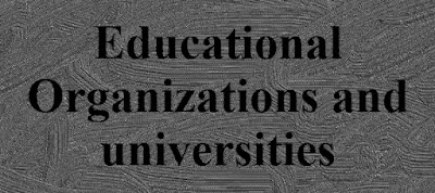 International Educational Organizations and universities