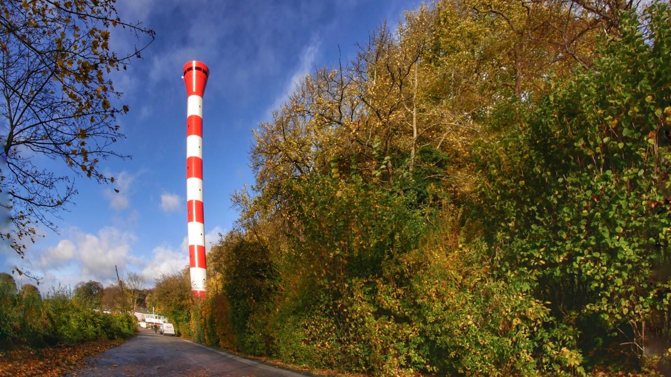 Elbvertiefung, leuchtturm