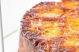 Cardamom and Orange upside cake