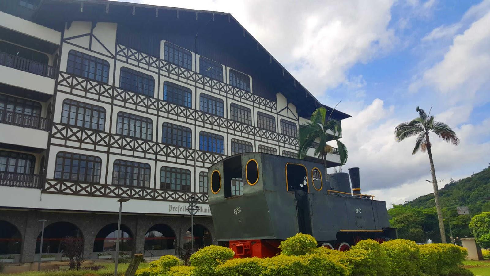 Prefeitura de Blumenau, Santa Catarina.