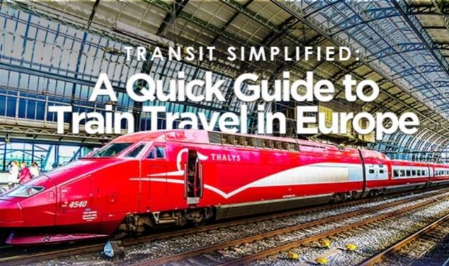 Train Travel in Europe
