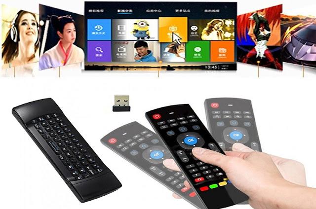 لا تبحت عن جهاز تحكم التالف لديك تعرف على هذا air mouse  remote مع لوحة مفاتيح