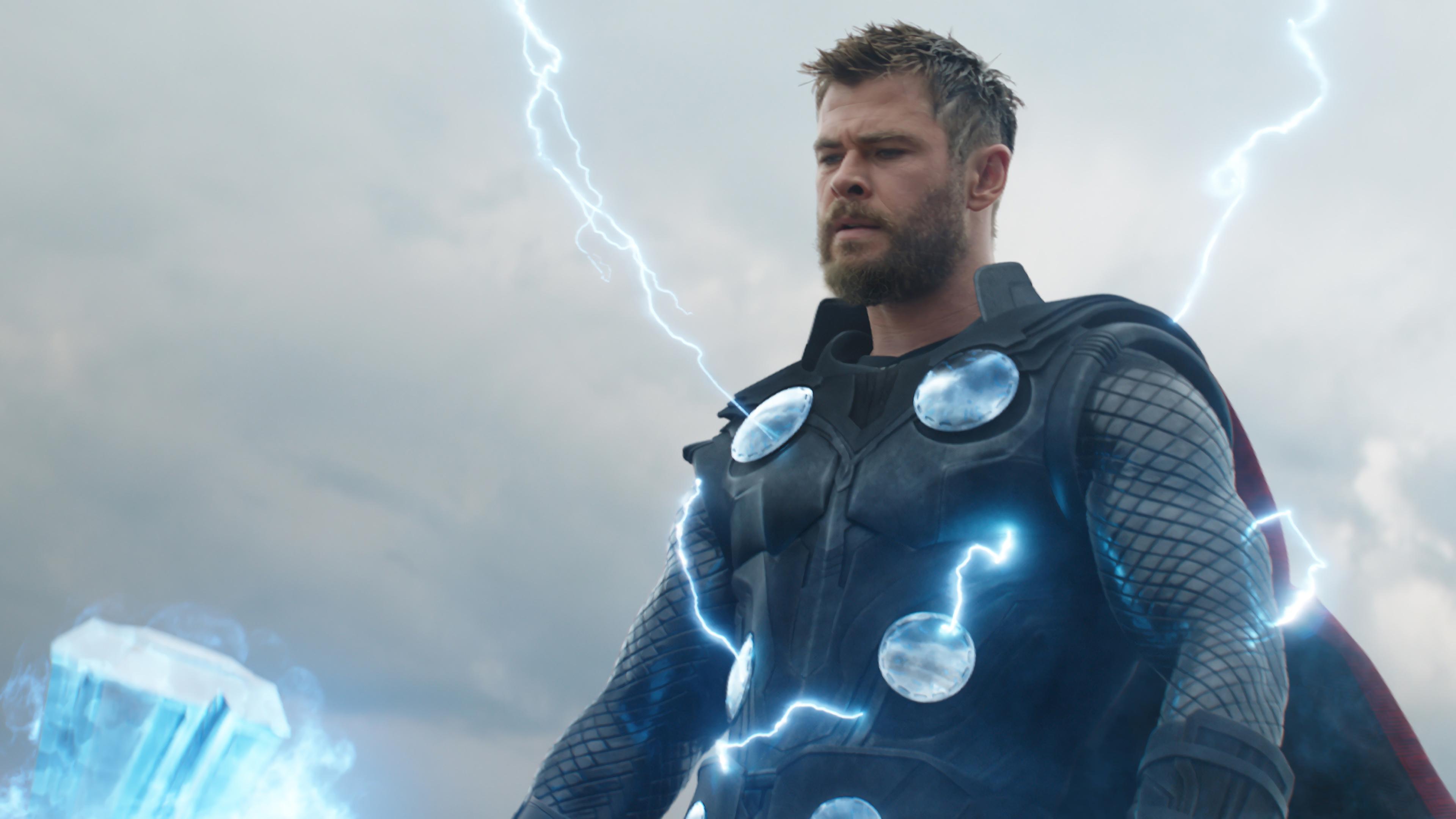 Avengers: Endgame, Thor, Lightning, 4K, #140 Wallpaper