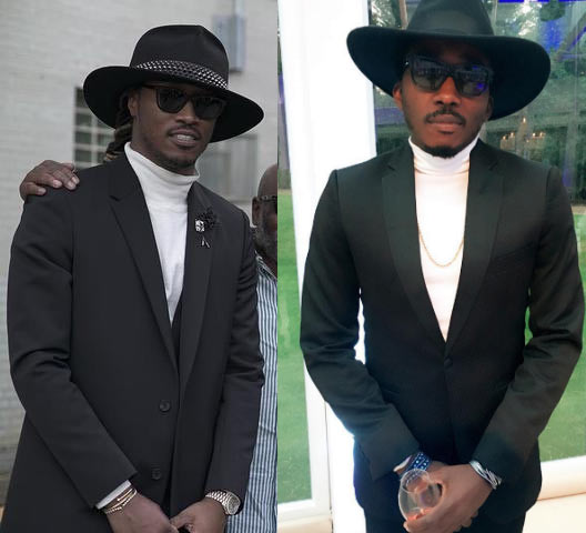 Between comedian Bovi and rapper Future
