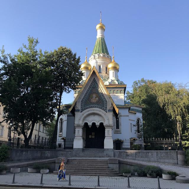 saint nikolas russian church sofia