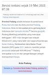 Demi Membenarkan Jokowi, Buzzer Edit Wikipedia, Ubah Padang Jadi Provinsi