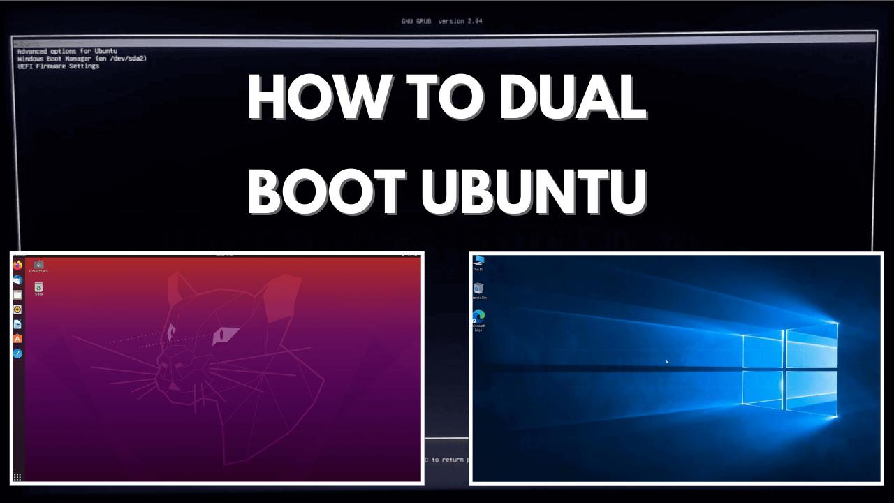 How to Dual Boot Ubuntu 20.04 | Install Ubuntu With Windows 10 | Easy Safe Installation