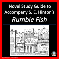 Cover for Novel Study Guide to Accompany S. E. Hinton's Rumble Fish