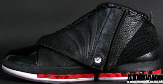 1a5a81ed314bfc Air Jordan 16 Retro Collezione (06 21 2008) 322723-061 Black Varsity Red
