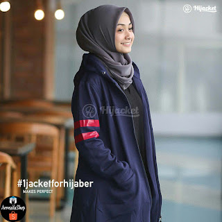 Hijacket Beautix Original Royal Blue Navy PREMIUM FLEECE Hijacket SPORTY