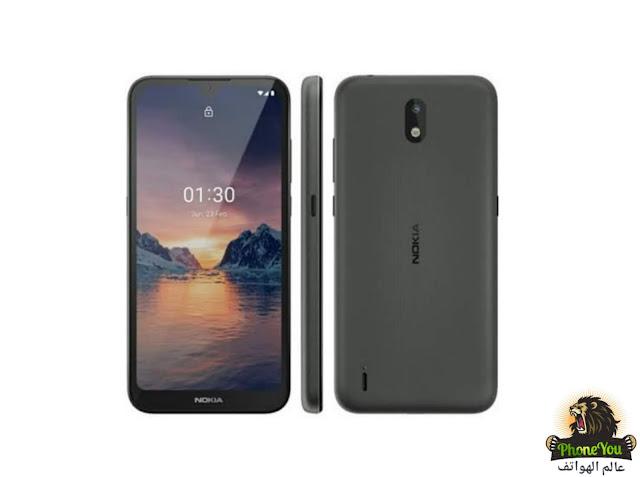 تسريب هاتف نوكيا الجديد Nokia 1.3  مع شاشة بنوتش
