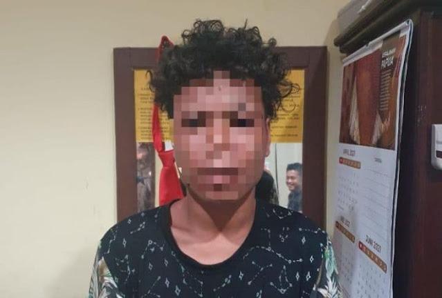 Polres Biak Numfor Amankan Seorang Pria di Inggiri Terkait Kasus Pencurian