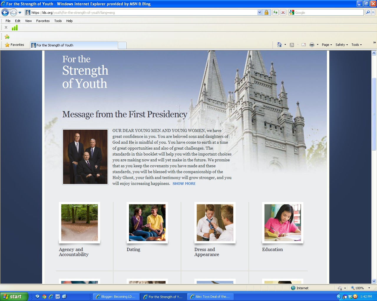 Lds dating for youth 9