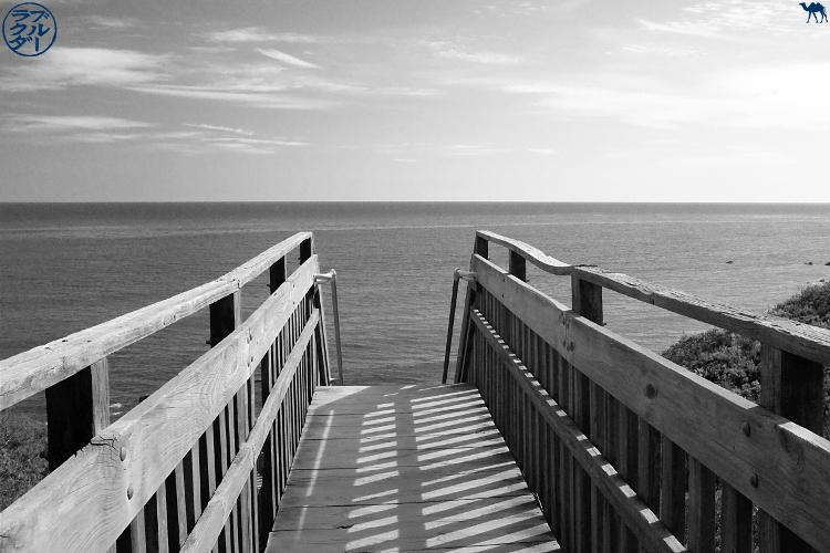 Le Chameau Bleu - Blog Voyage Block Island - Ponton de plage de Block Island - Rhode Island