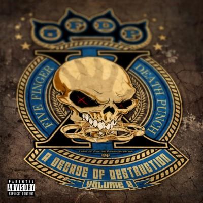 Five Finger Death Punch - A Decade of Destruction Vol. 2 (2020) - Album Download, Itunes Cover, Official Cover, Album CD Cover Art, Tracklist, 320KBPS, Zip album