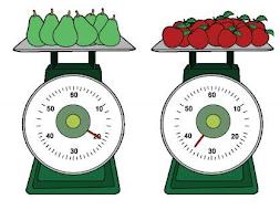 timbangan buah