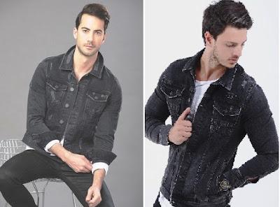siyah kot ceket erkek
