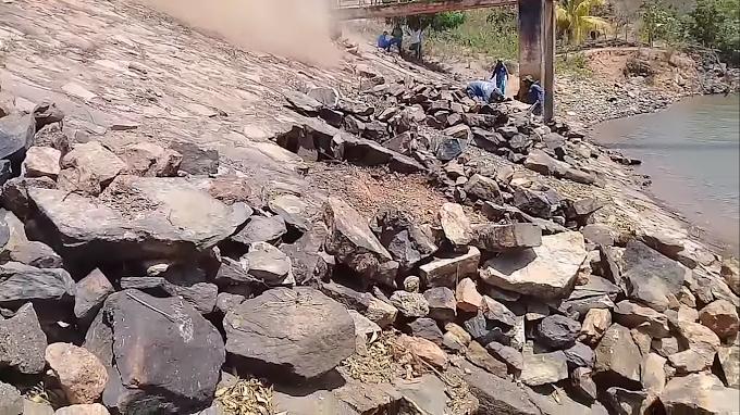 Obra de reforma da barragem do açude Tucunduba inicia!