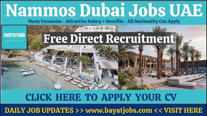Nammos Dubai Jobs Latest Hotel Career Free Recruitment