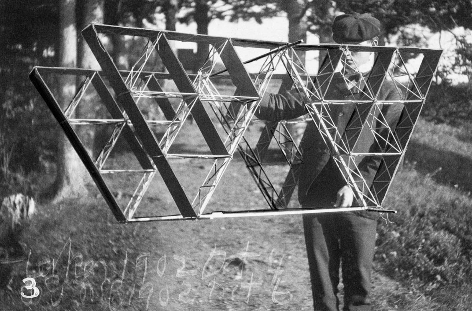 alexander graham bell tetrahedral kites