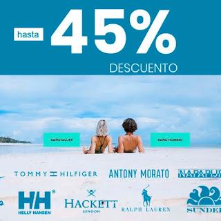 45% de descuento en bañadores