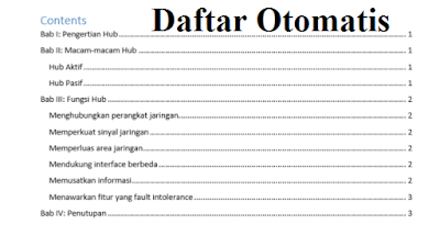 Daftar Otomatis