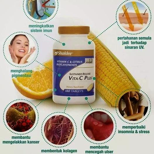 Tingkatkan Tahap Kesihatan Dengan Shaklee Vita C Sustained Release