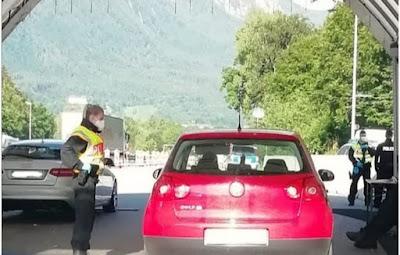 الشرطة,تمنع,10.000,شخصا,من,الدخول,إلى,التراب,النمساوي
