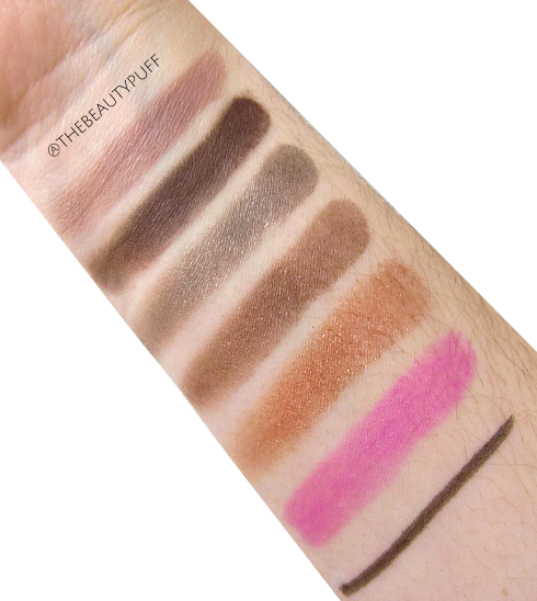 beauty box 5 indie makeup swatches - the beauty puff