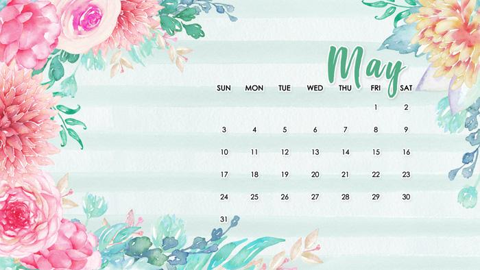 Free Computer Calendar Wallpaper