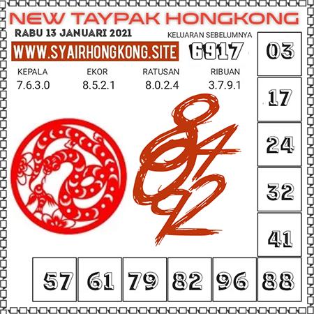Prediksi Togel New Taypak Hongkong Rabu 13 Januari 2021