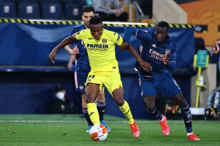 Chukwueze's Villarreal To Face Man Utd In Europa League Final After Draw With Arsenal