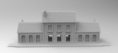 £1500 STRETCH GOAL RAILWAY STATION picture 3