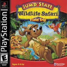 JumpStart - Wildlife Safari - PS1 - ISOs Download