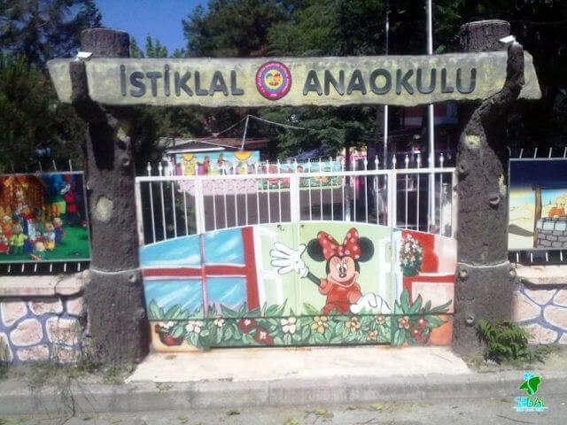 İstiklal Anaokulu tematik bahçe