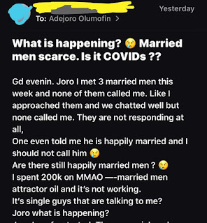 'I Spent N200k On Special Package Yet Married Men Are Not Approaching Me' - Nigerian Lady Laments