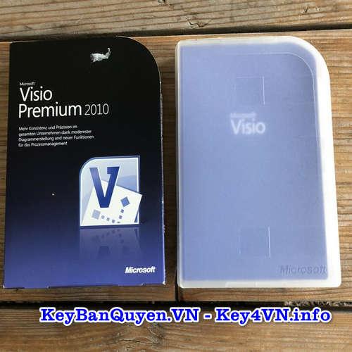 Mua bán key bản quyền Visio Premium 2010 Full 32 và 64 Bit.