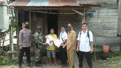 Kodim Sanggau Rampungkan Pengawalan Beras Bantuan Pemerintah
