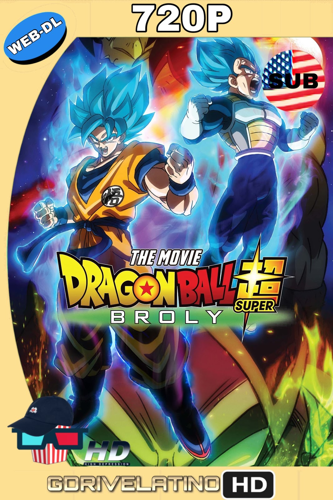 Dragon Ball Super: Broly 2018 Japones-SUBTITULADO 720p WEB-DL HD MKV