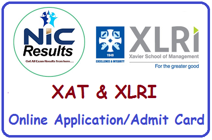 XAT XLRI Online Application and Admit Card